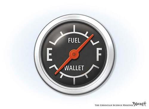ilustrasi bahan bakar